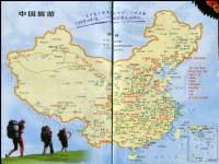 中国旅游景点地图