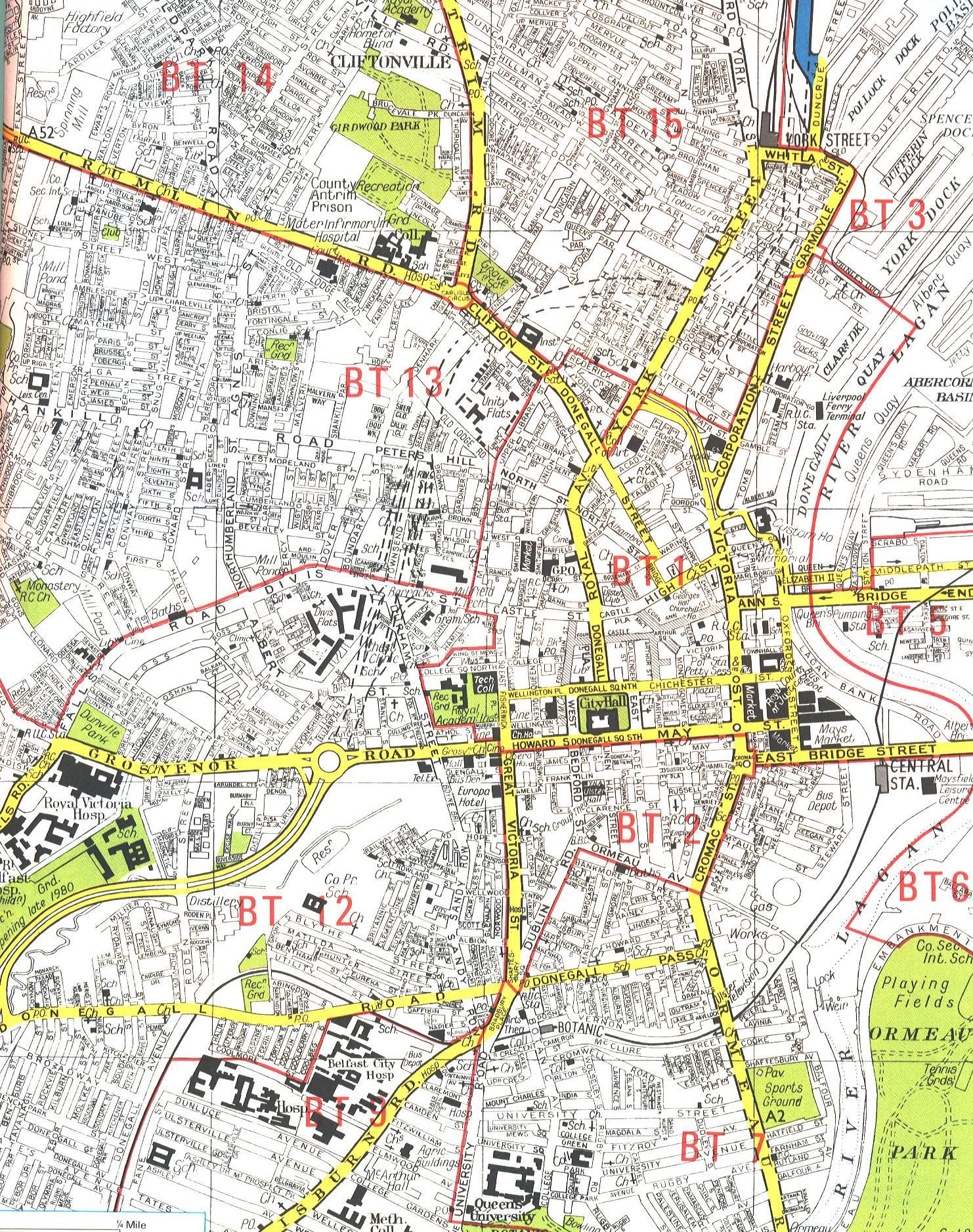 英国贝尔法斯特地图,英国地图高清中文版