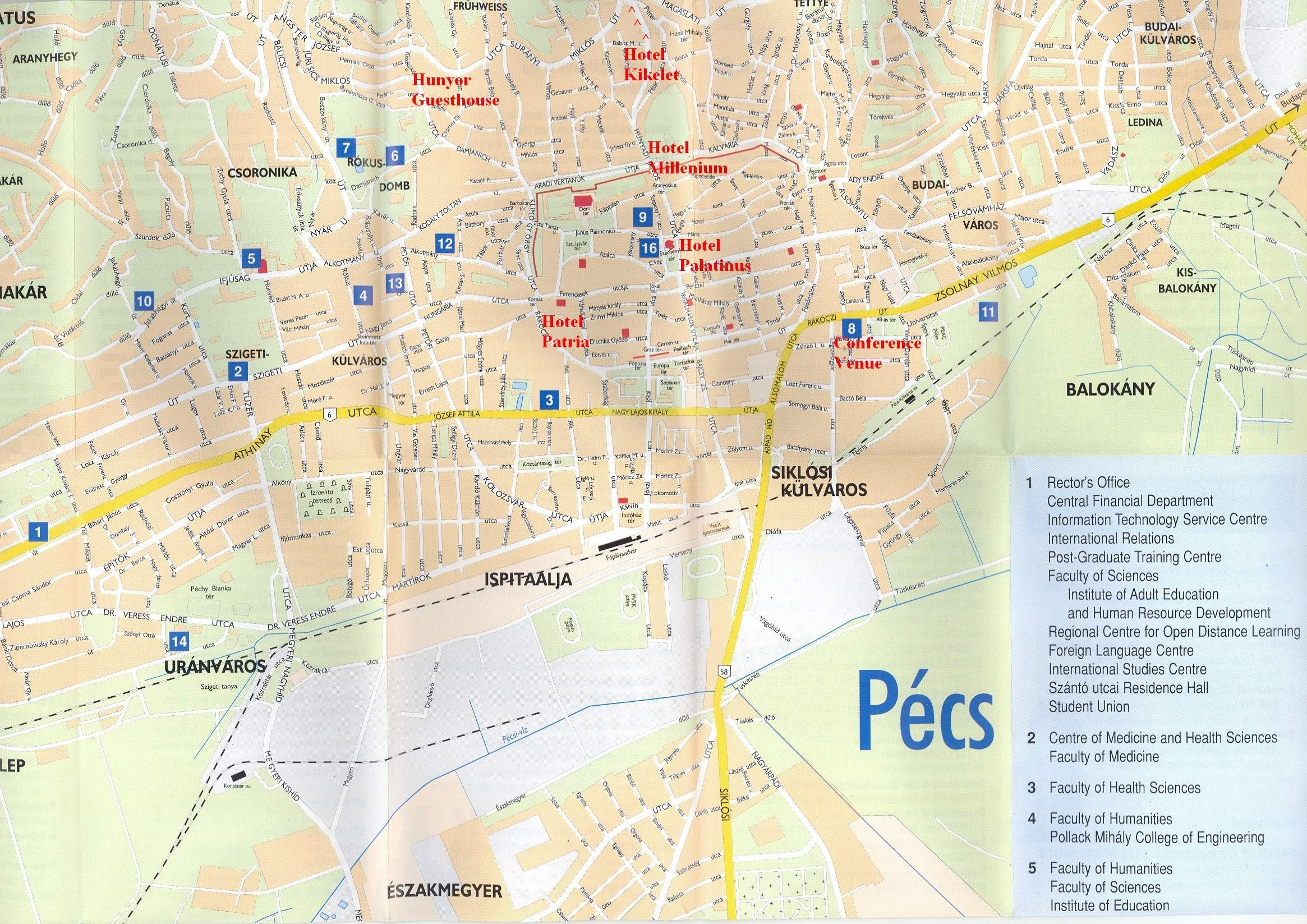 匈牙利貝赤地图