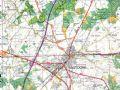 比利时巴斯通地图