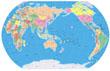 世界地图中文版高清